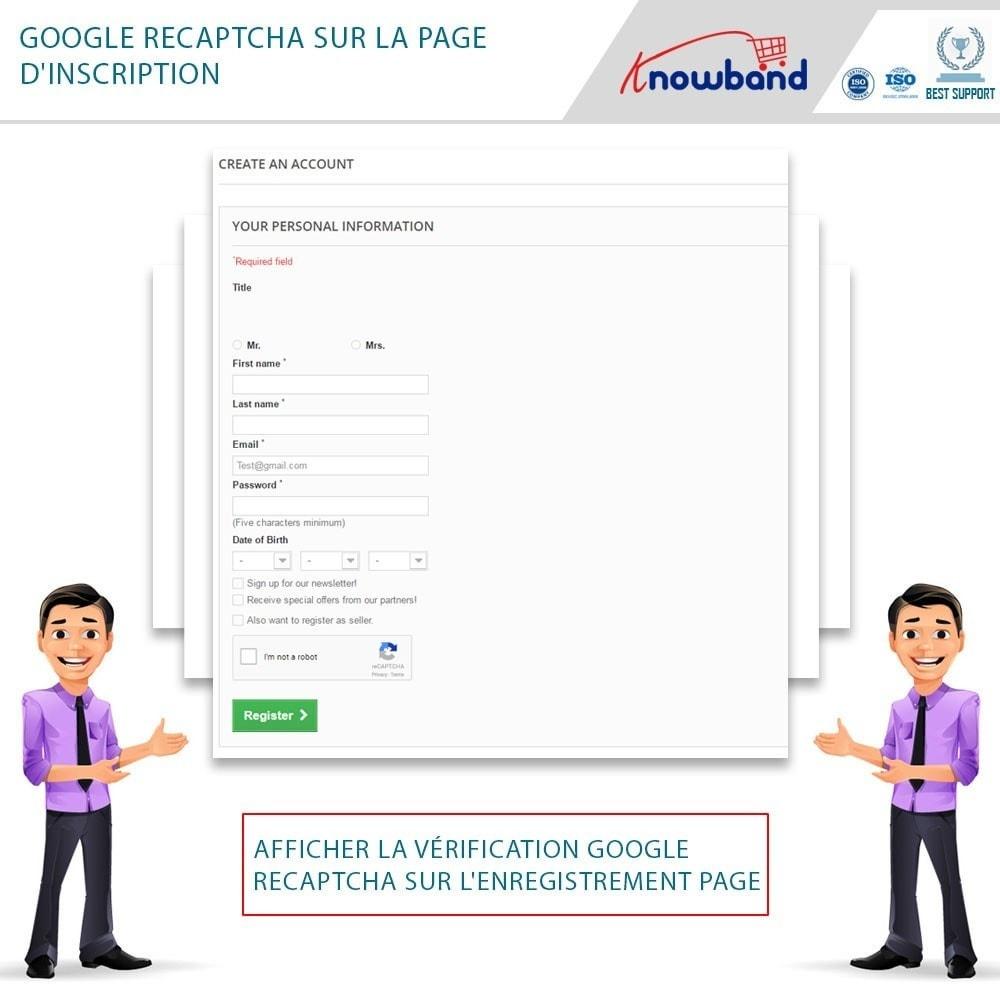 module - Sécurité & Accès - Google reCaptcha - 2