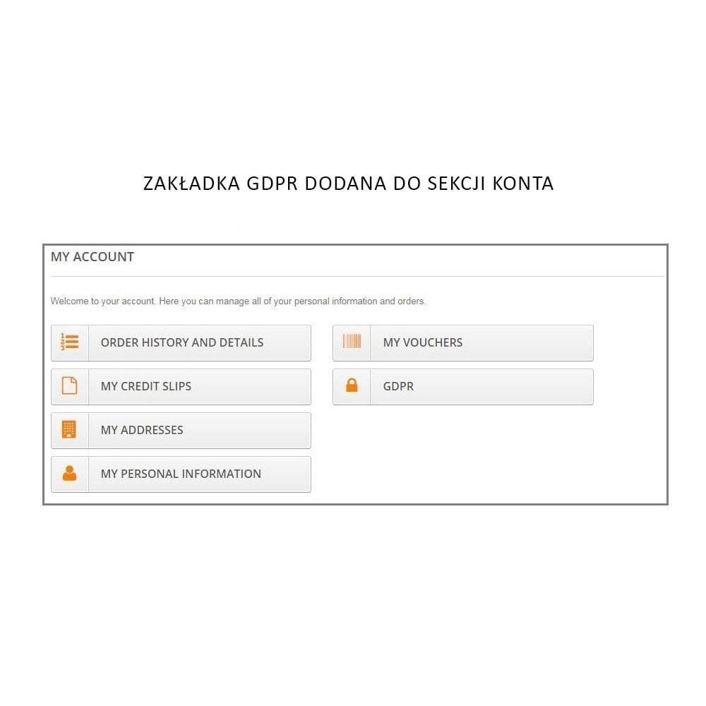module - Wzmianki prawne - Knowband - GDPR - Rights of Individuals - 3