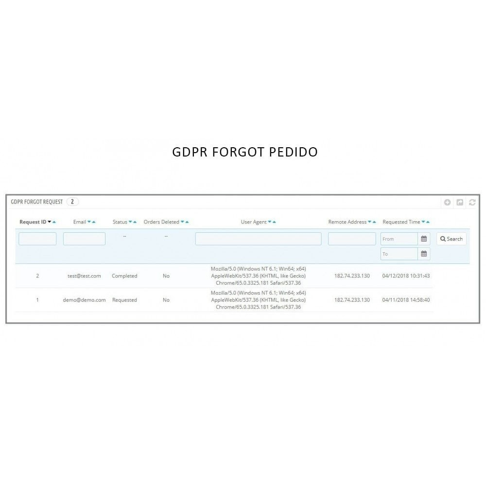module - Jurídico - Knowband - GDPR - Rights of Individuals - 9
