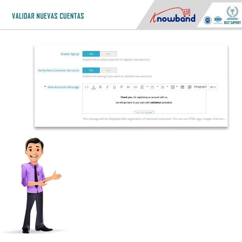 module - Ventas Privadas y Ventas Flash - Knowband - Tienda privada - 6