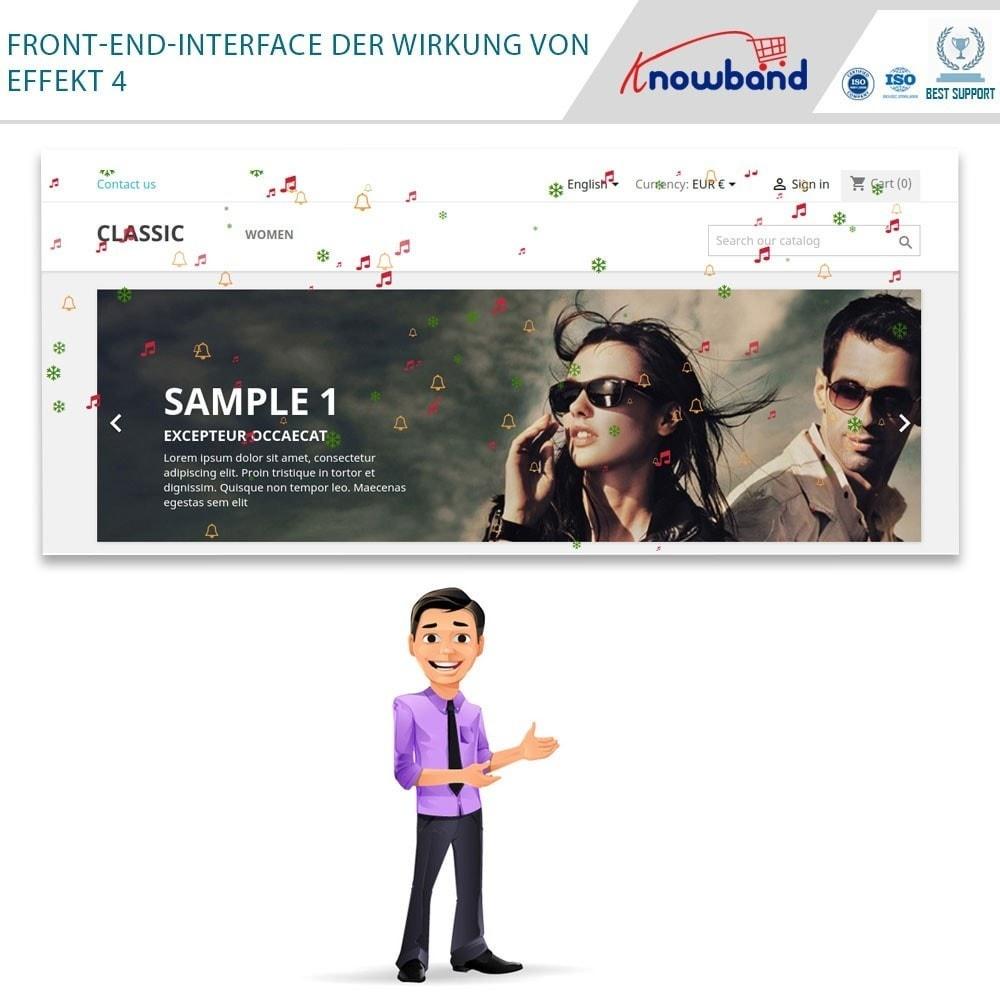 module - Individuelle Seitengestaltung - Knowband - Website Decoration Effects - 3