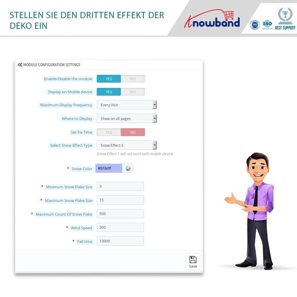 module - Individuelle Seitengestaltung - Knowband - Website Decoration Effects - 6