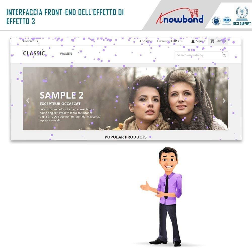 module - Personalizzazione pagine - Knowband - Website Decoration Effects - 3