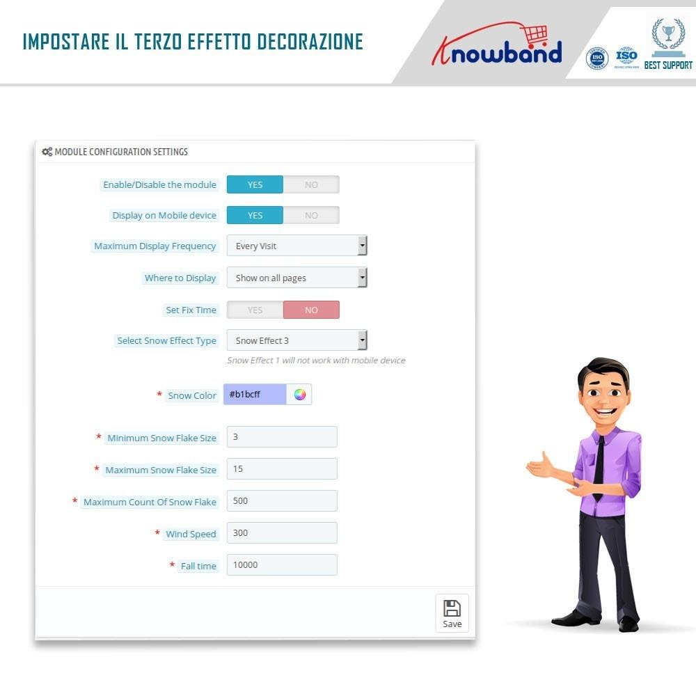module - Personalizzazione pagine - Knowband - Website Decoration Effects - 7