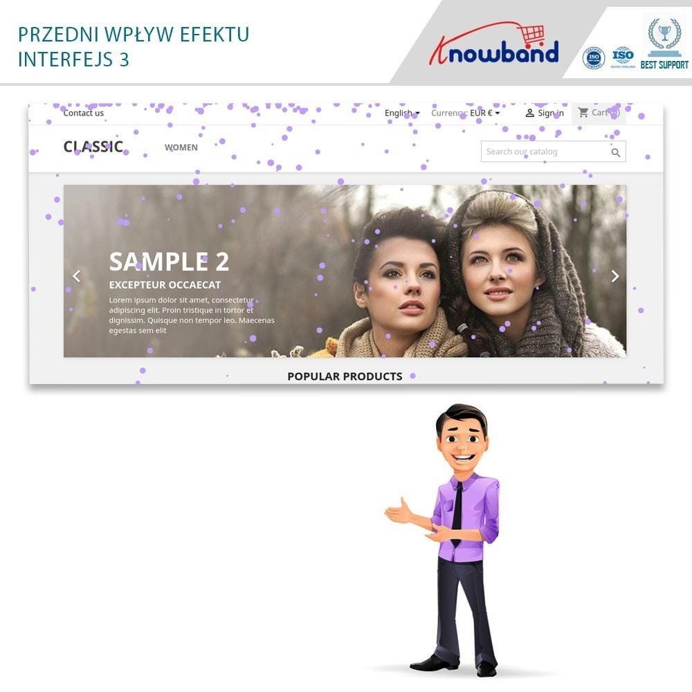 module - Personalizacja strony - Knowband - Website Decoration Effects - 2