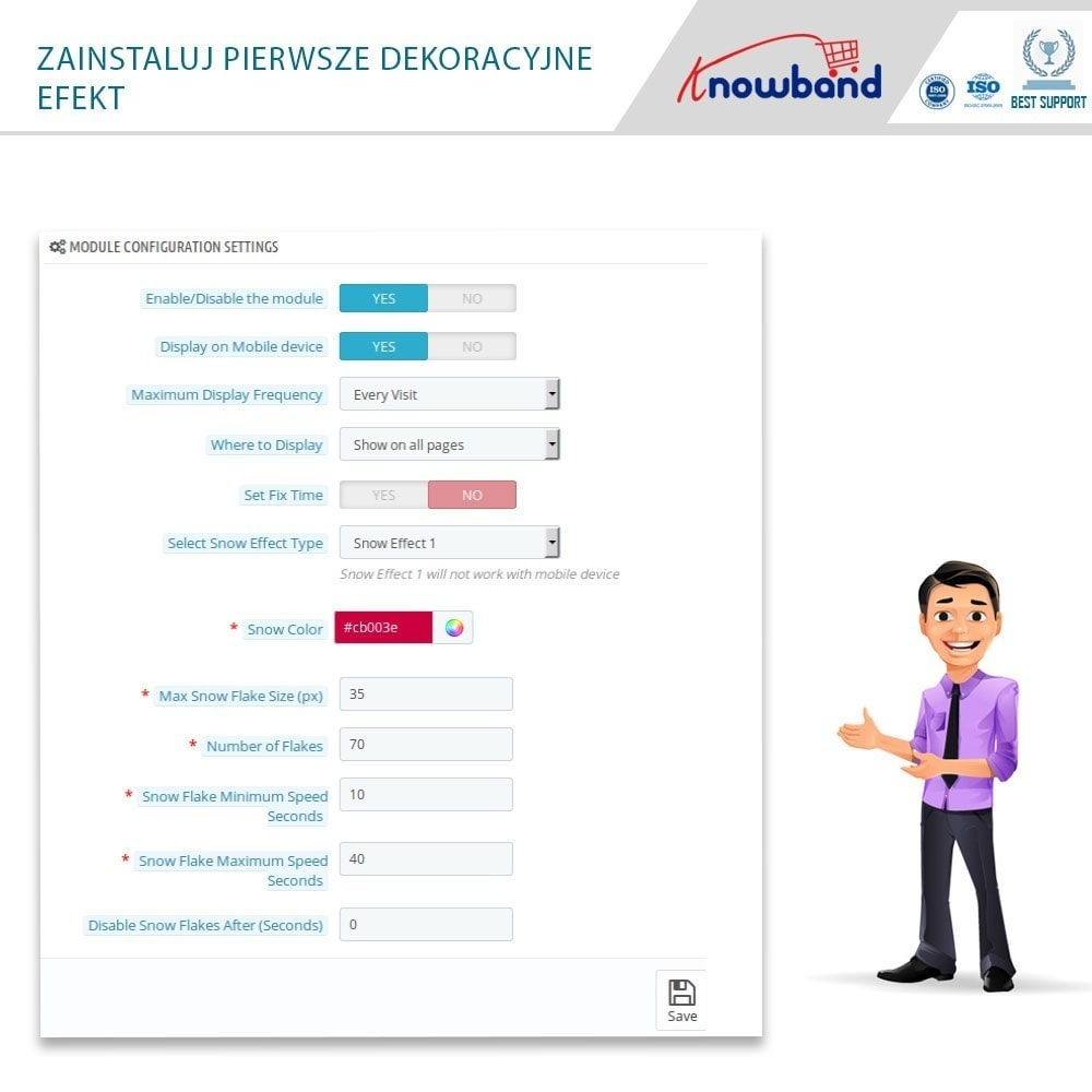 module - Personalizacja strony - Knowband - Website Decoration Effects - 4