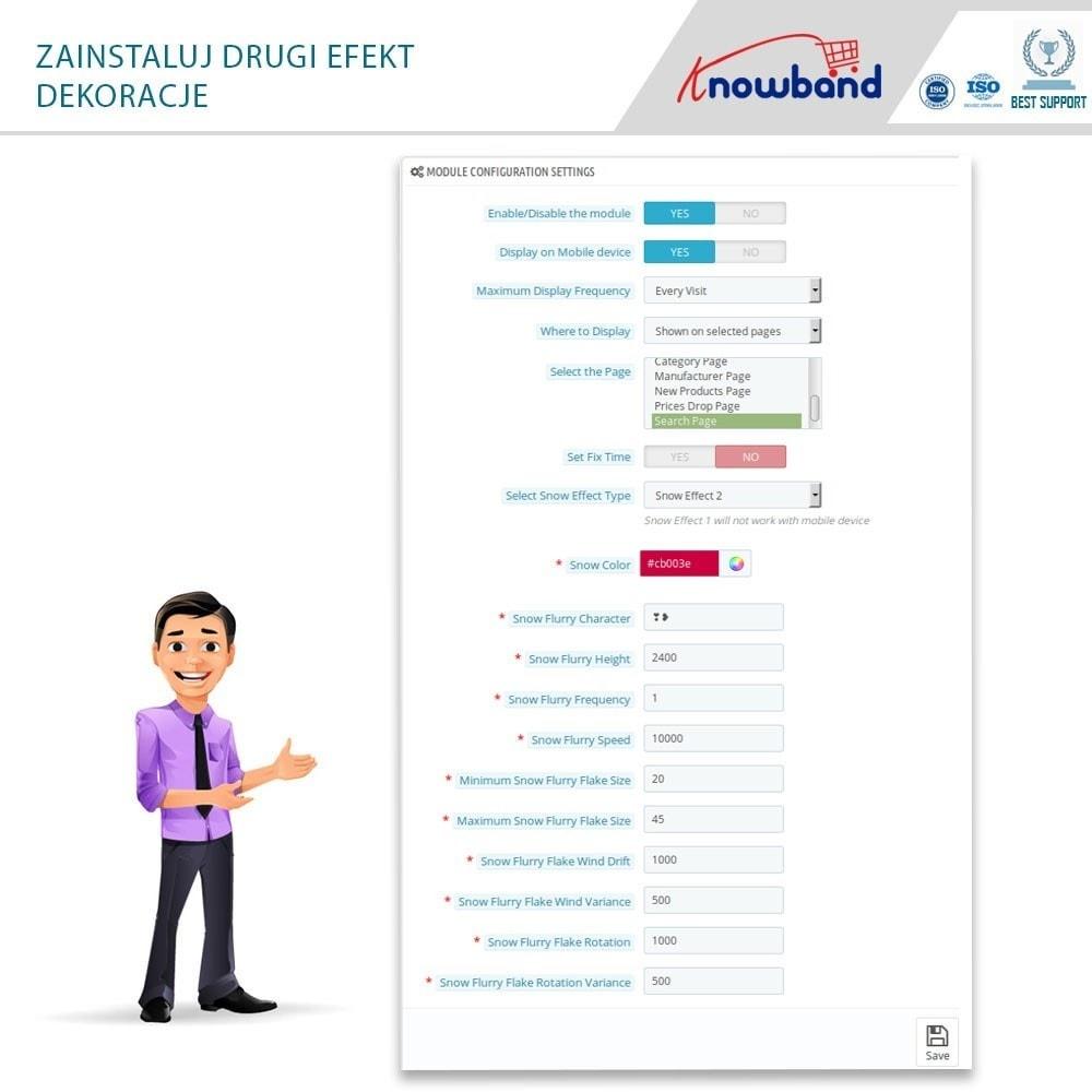 module - Personalizacja strony - Knowband - Website Decoration Effects - 5
