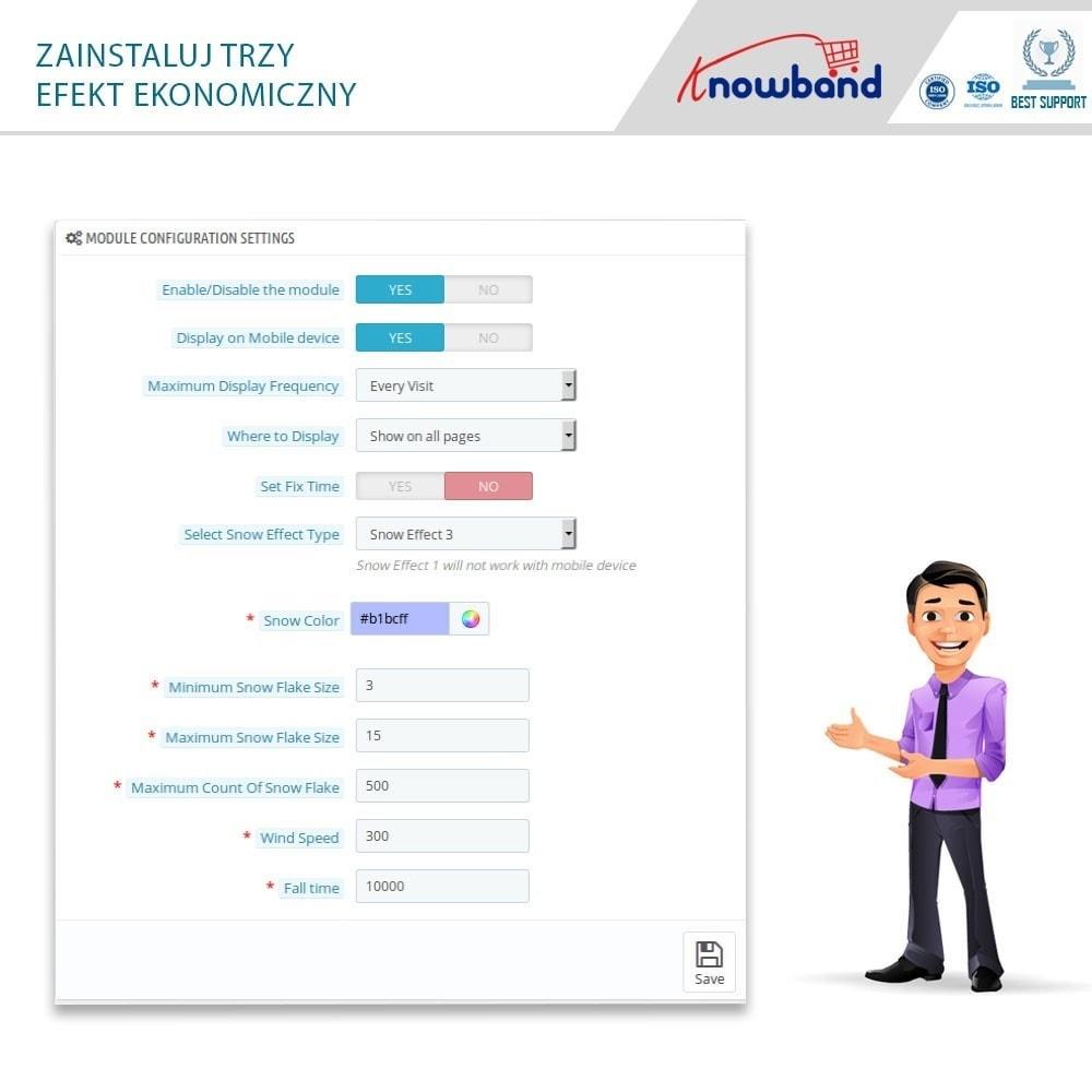 module - Personalizacja strony - Knowband - Website Decoration Effects - 6