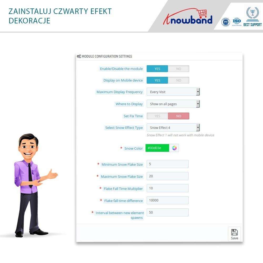module - Personalizacja strony - Knowband - Website Decoration Effects - 7