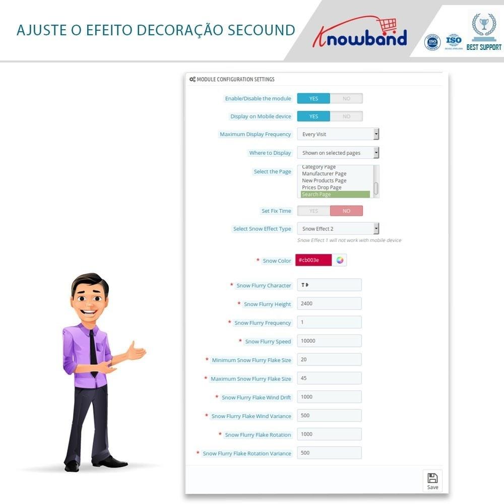 module - Personalização de página - Knowband - Website Decoration Effects - 4