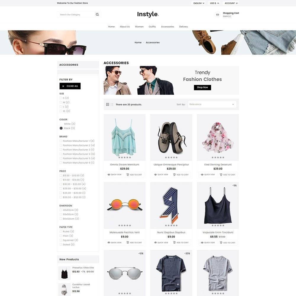 theme - Moda y Calzado - InStyle Fashion - 4