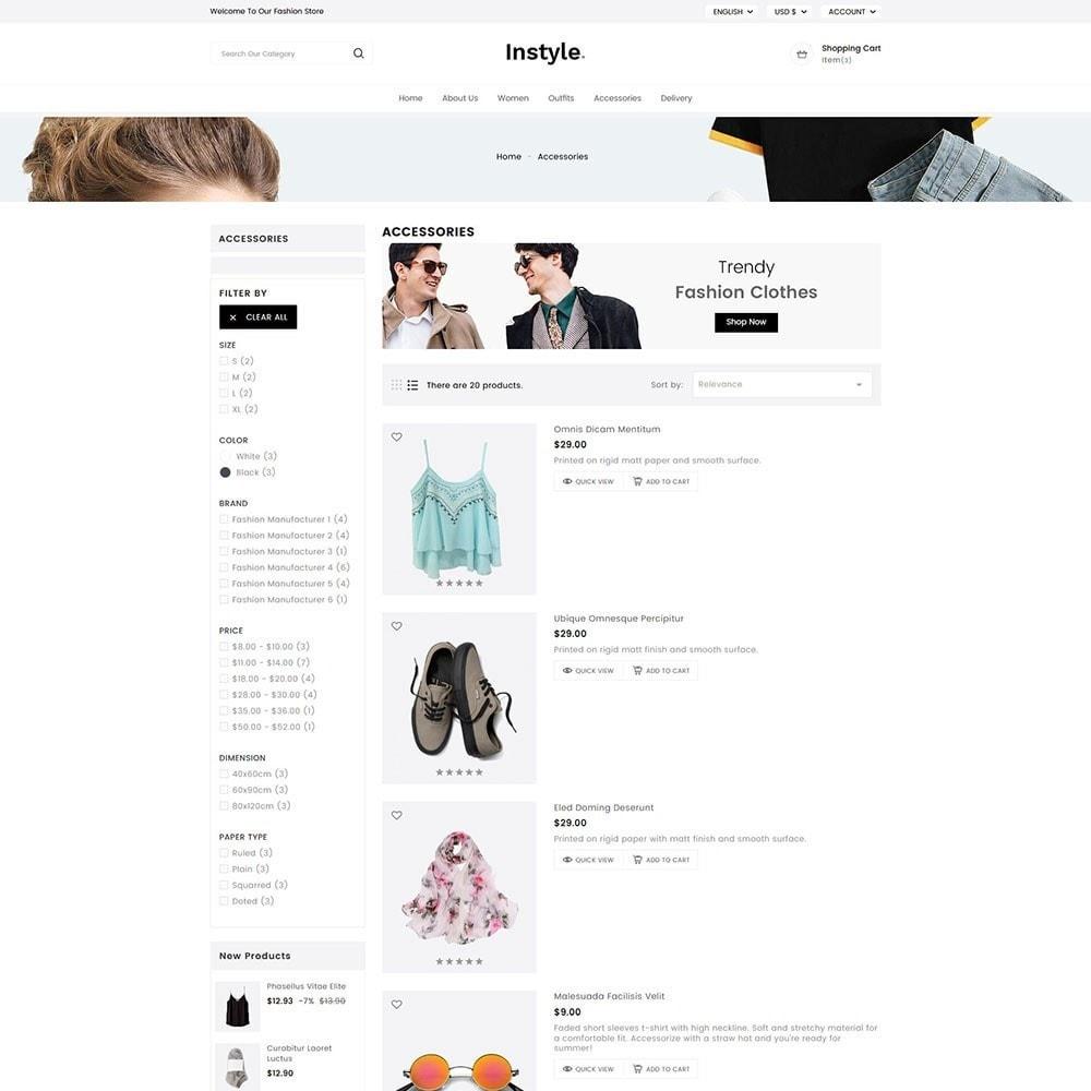theme - Moda y Calzado - InStyle Fashion - 5