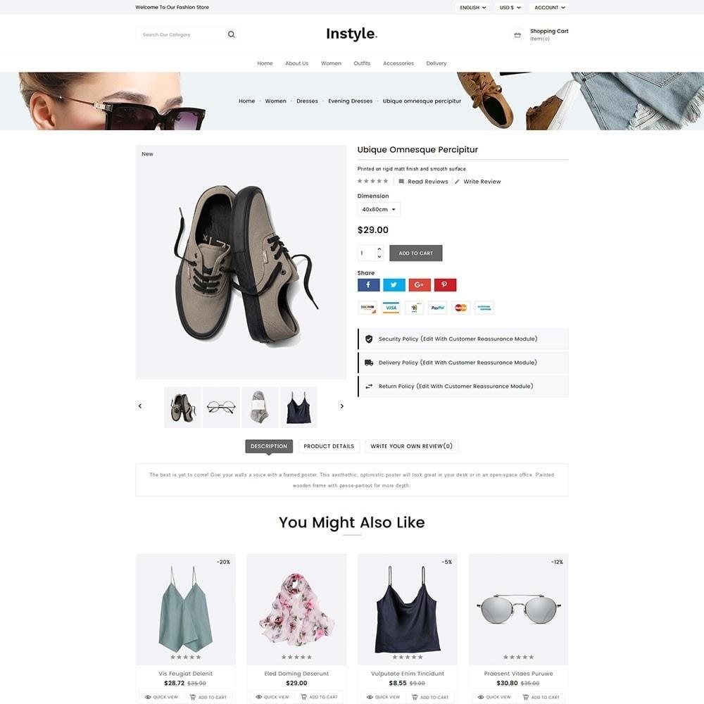theme - Moda y Calzado - InStyle Fashion - 6