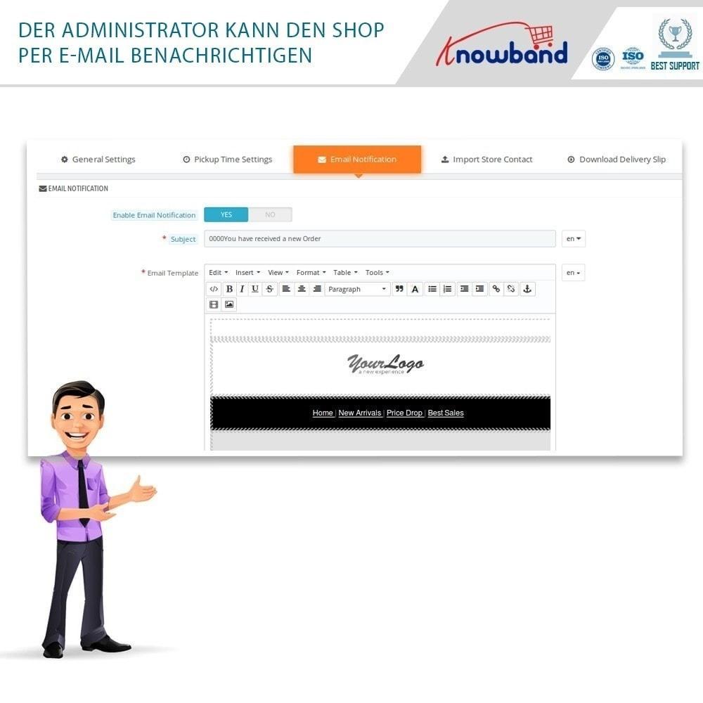 module - Abholstationen & Selbstabholer - Store Locator and Pickup - 6