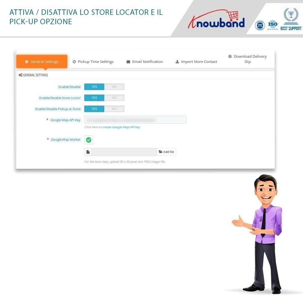 module - Punto di raccolta & Ritiro in negozio - Store Locator and Pickup - 3