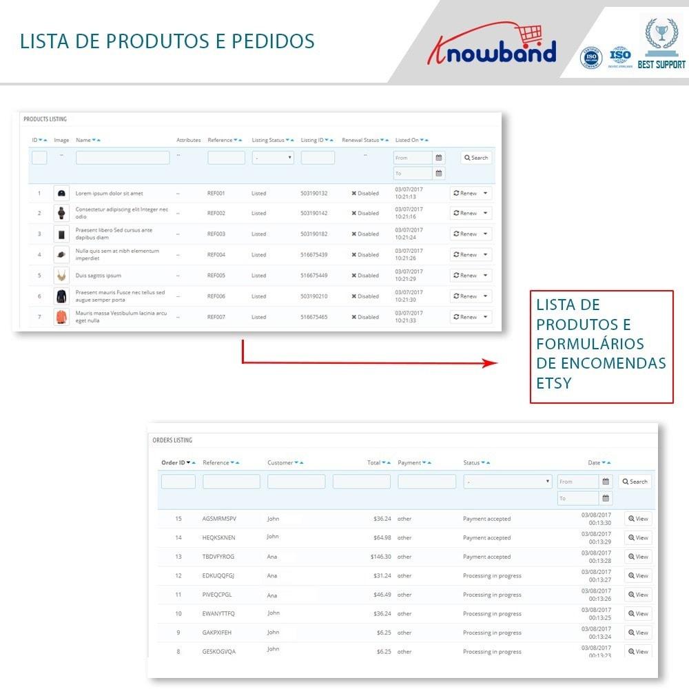 module - Revenda (marketplace) - Integração com Etsy Marketplace - 5
