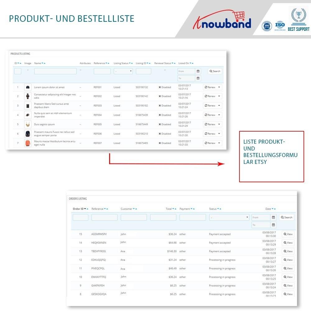 module - Marktplätze - Etsy Marketplace Integration - 5