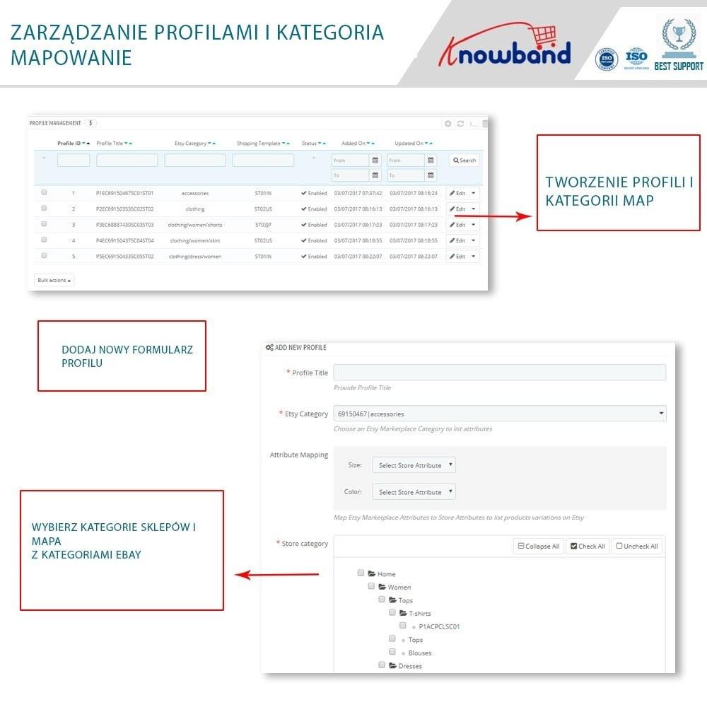 module - Platforma handlowa (marketplace) - Etsy Marketplace Integration - 2