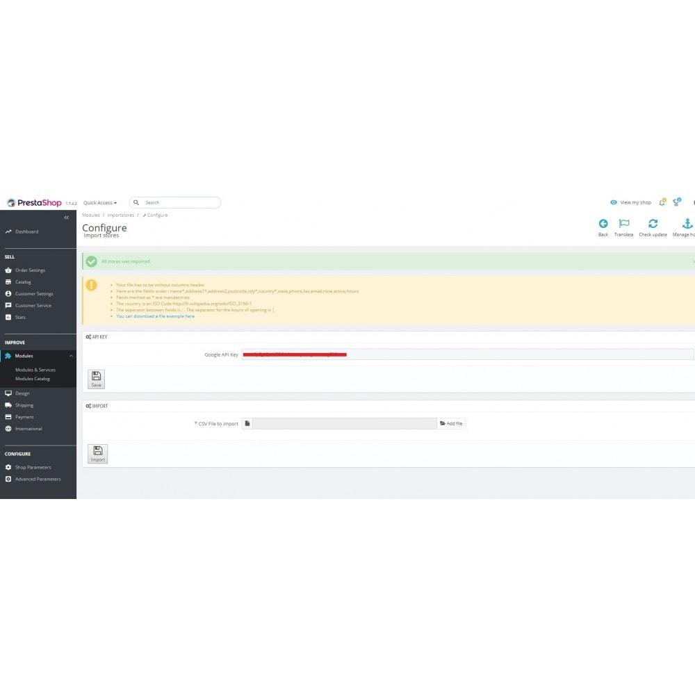 module - Data Import & Export - Stores Importer - 3