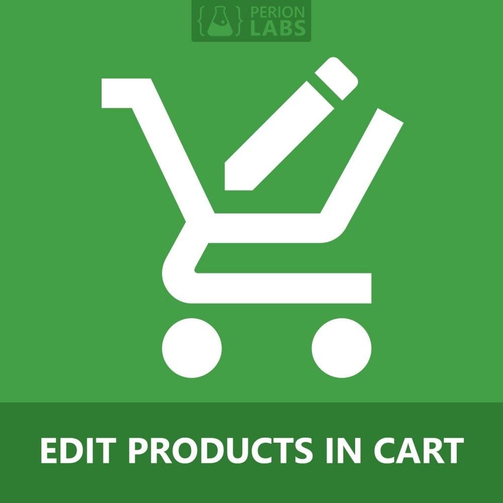 module - Deklinacje & Personalizacja produktów - Edit Products in Cart - 1