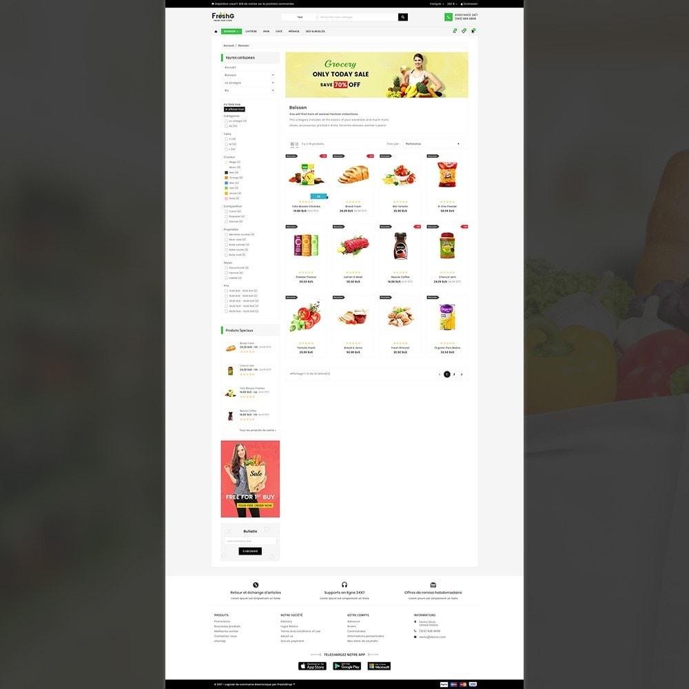 theme - Alimentation & Restauration - FreshG Mega Grocery–Food Drink–Coffee Super Store v3 - 3