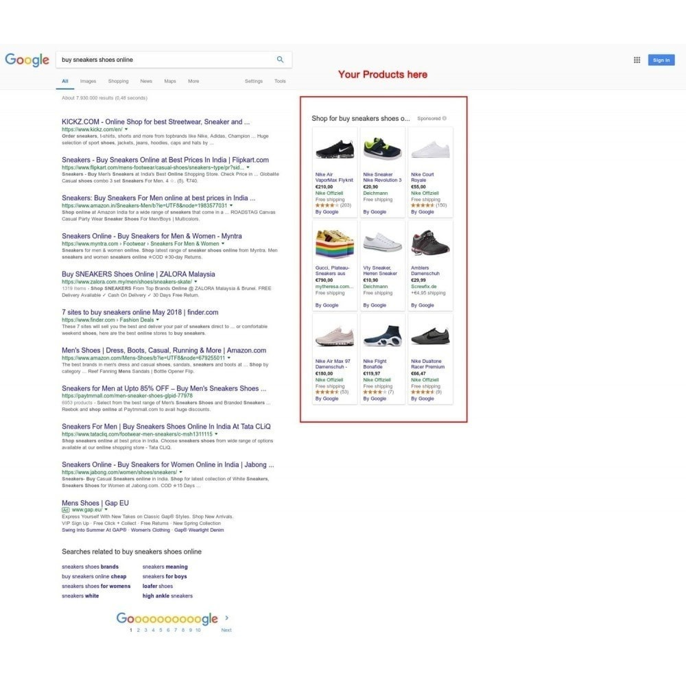 module - Comparateurs de prix - Google Merchant Center (Google Shopping Feed) PRO - 2