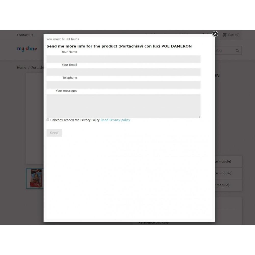 module - Formulaires de Contact & Sondages - Request Product Info - 2