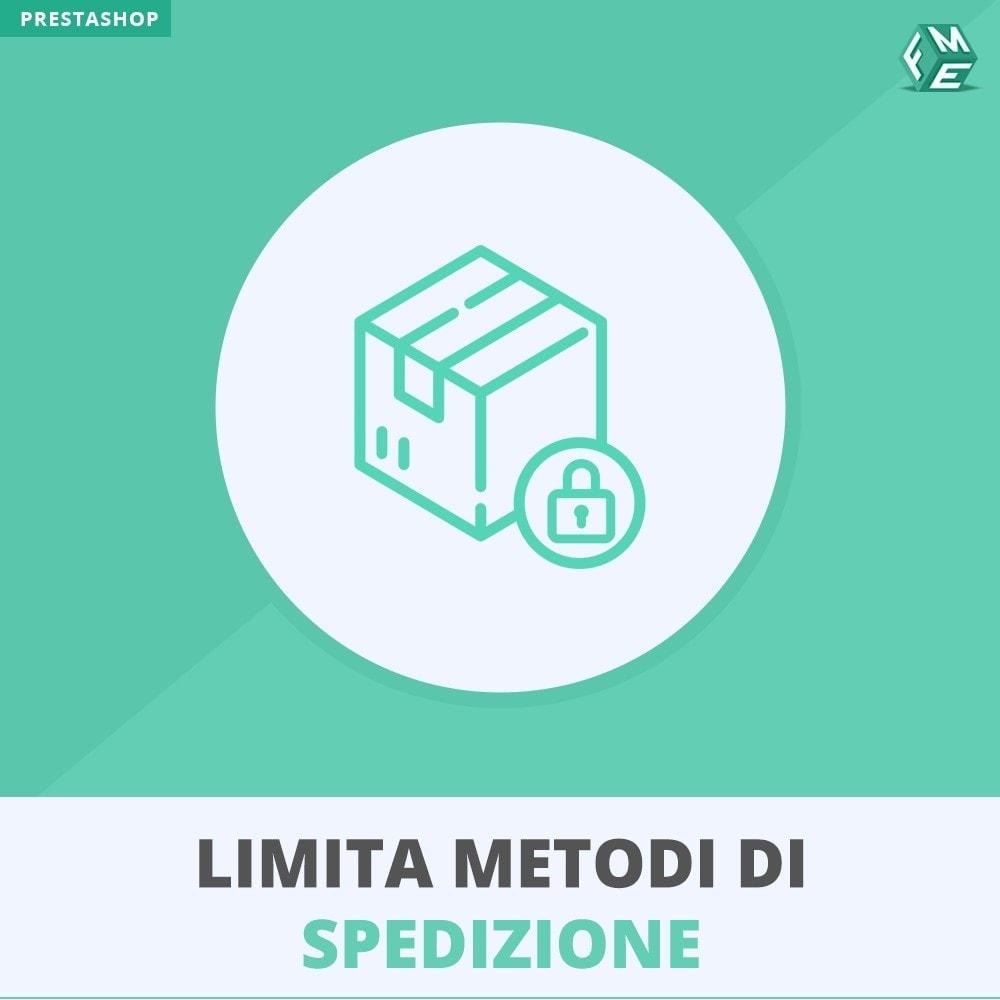 module - Levering & Logistiek - Restrict Shipping Methods - 1