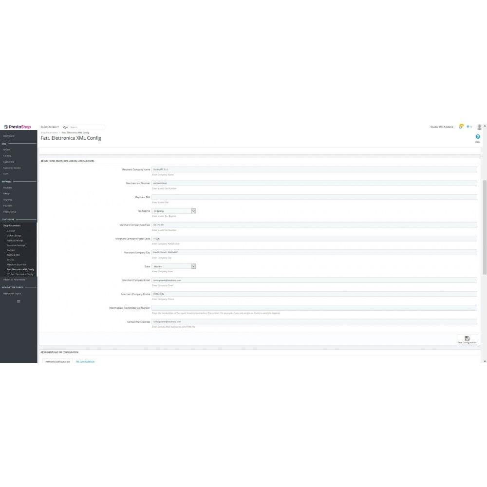 module - Pago mediante Factura - ITC Electronic Invoice XML - 4