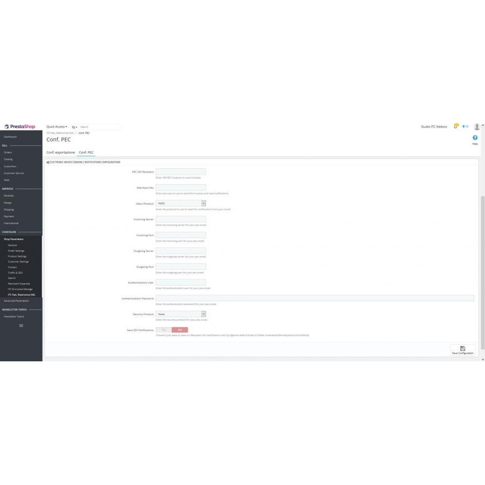 module - Pago mediante Factura - ITC Electronic Invoice XML - 7