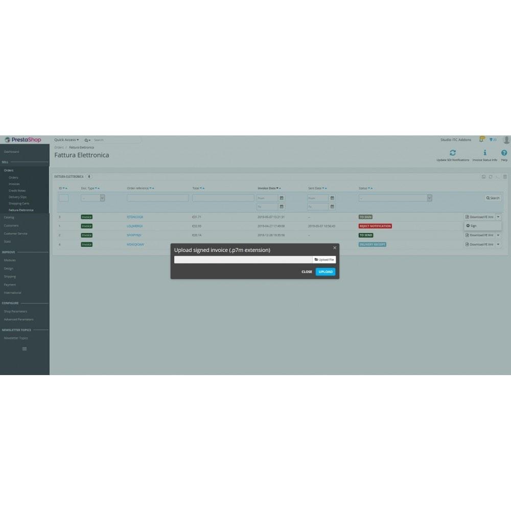 module - Pago mediante Factura - ITC Electronic Invoice XML - 11