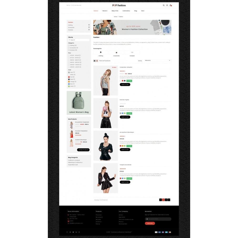 theme - Moda & Obuwie - Popfashion - Fashion Store - 4