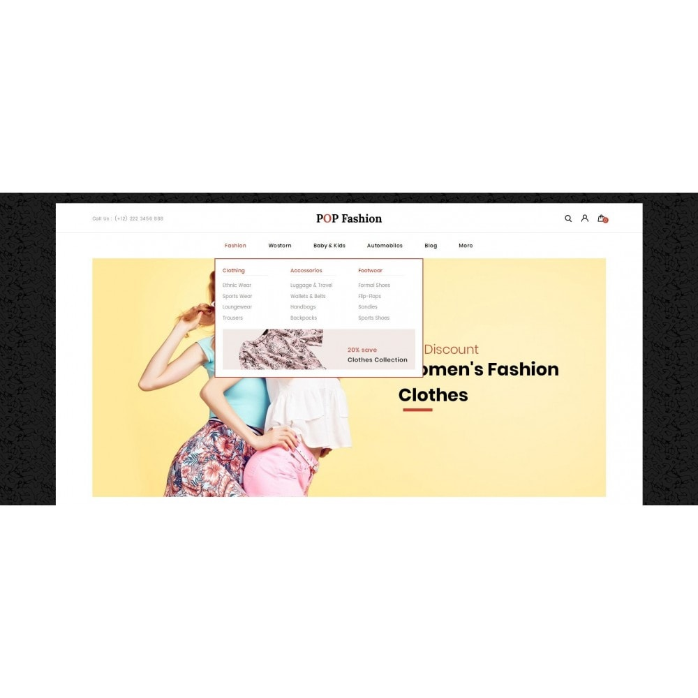 theme - Moda & Obuwie - Popfashion - Fashion Store - 6
