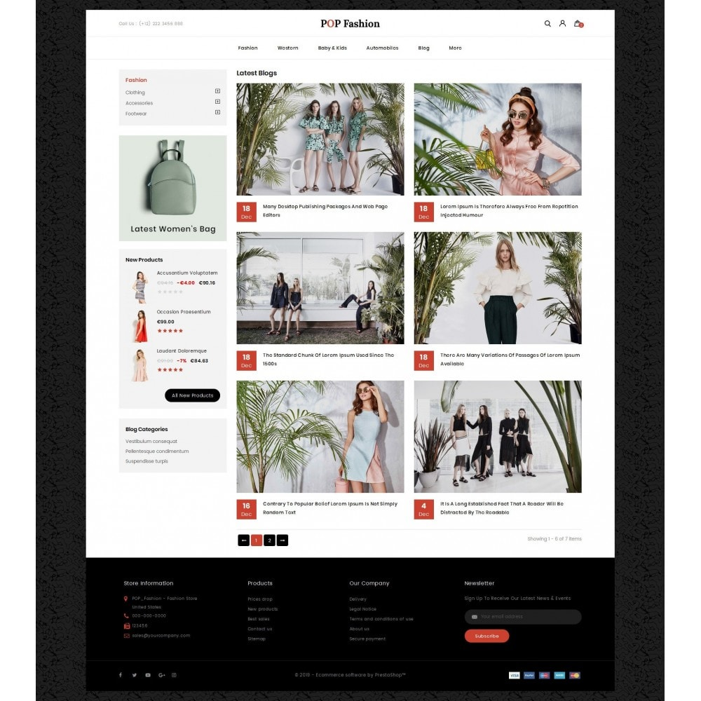 theme - Moda & Obuwie - Popfashion - Fashion Store - 9