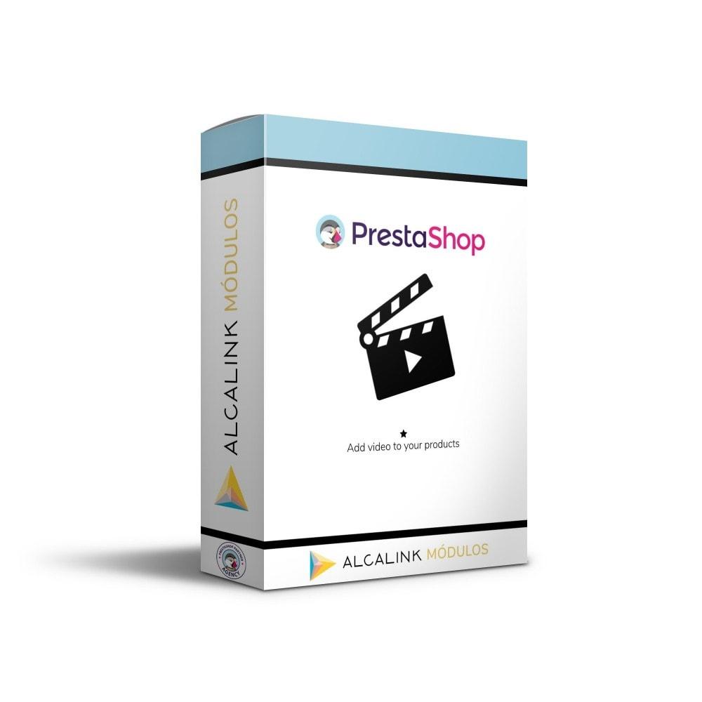 module - Wideo & Muzyka - Video in Product Sheet - Youtube, Dailymotion... - 1