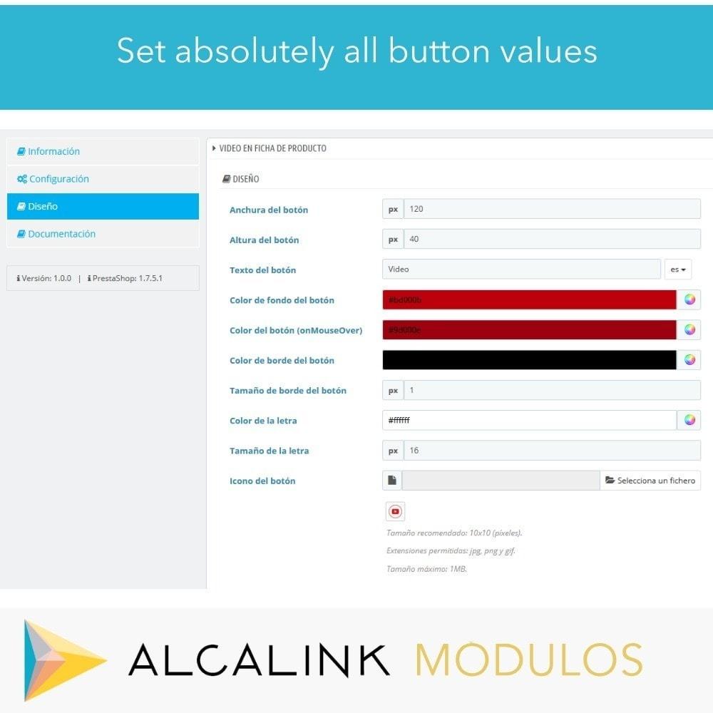 module - Wideo & Muzyka - Video in Product Sheet - Youtube, Dailymotion... - 3