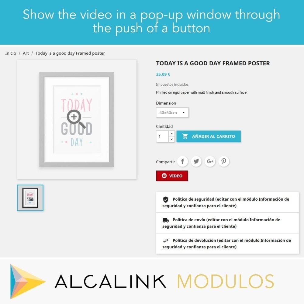 module - Wideo & Muzyka - Video in Product Sheet - Youtube, Dailymotion... - 4