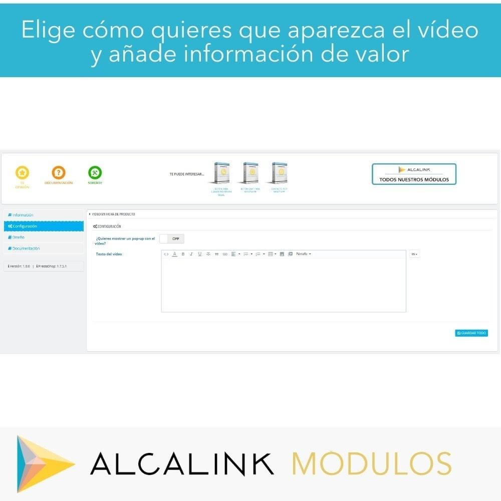 module - Vídeos y Música - Vídeo en Ficha Producto - Youtube, Dailymotion... - 2
