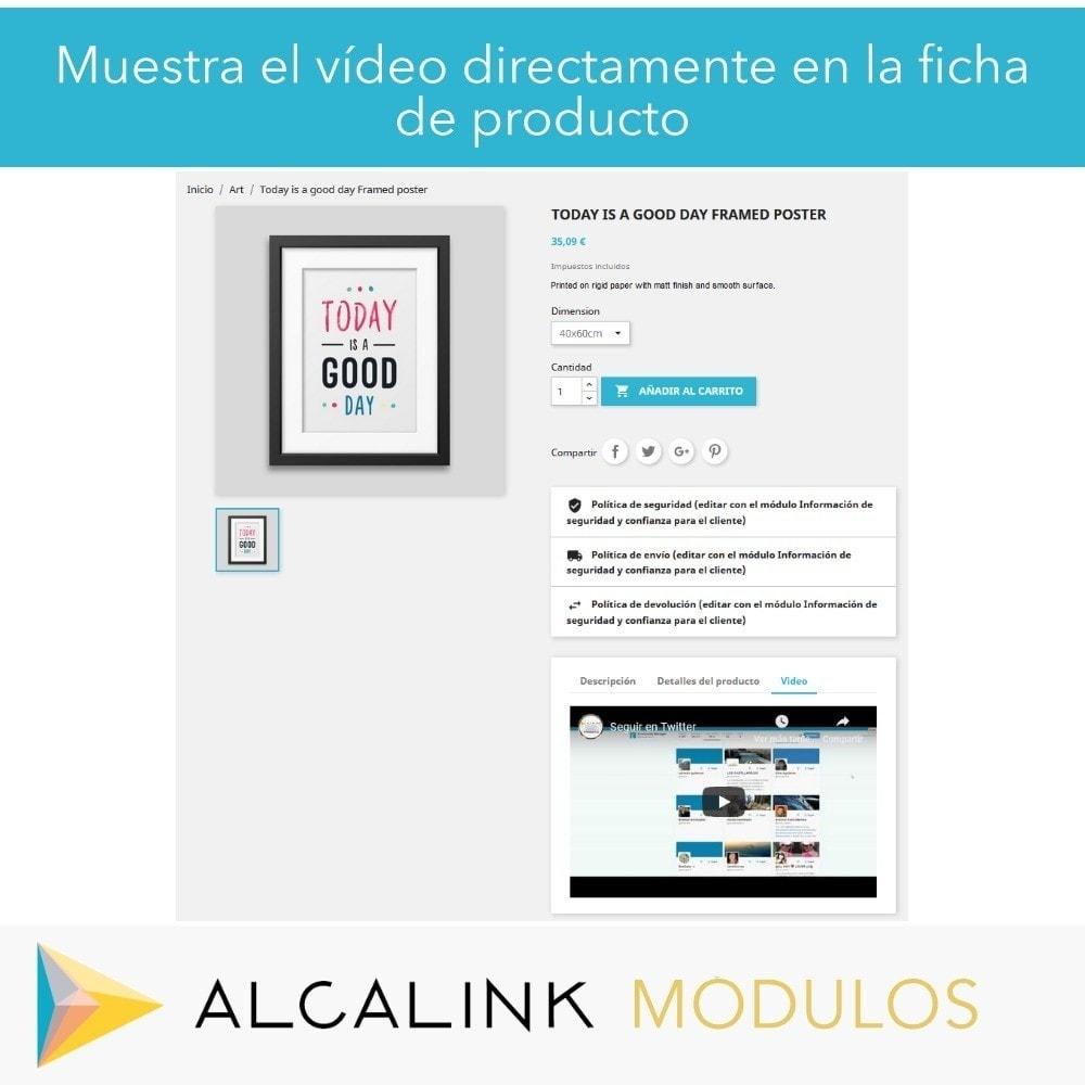 module - Vídeos y Música - Vídeo en Ficha Producto - Youtube, Dailymotion... - 5