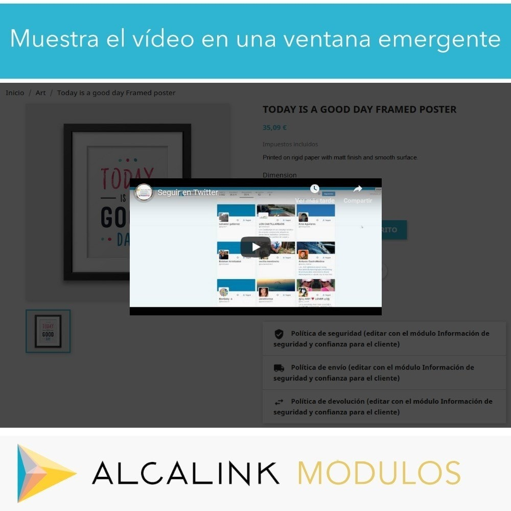 module - Vídeos y Música - Vídeo en Ficha Producto - Youtube, Dailymotion... - 6