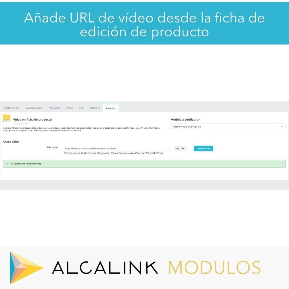 module - Vídeos y Música - Vídeo en Ficha Producto - Youtube, Dailymotion... - 7