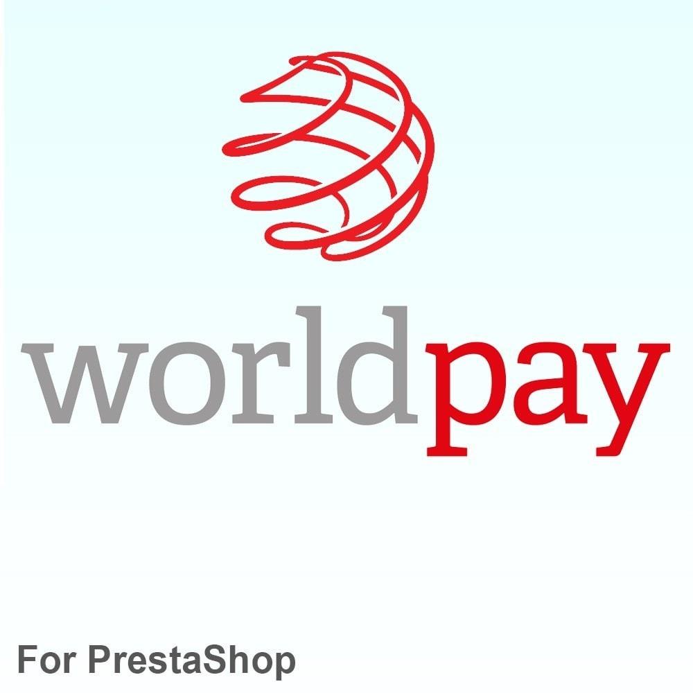 module - Paiement par Carte ou Wallet - Worldpay payment method - 1