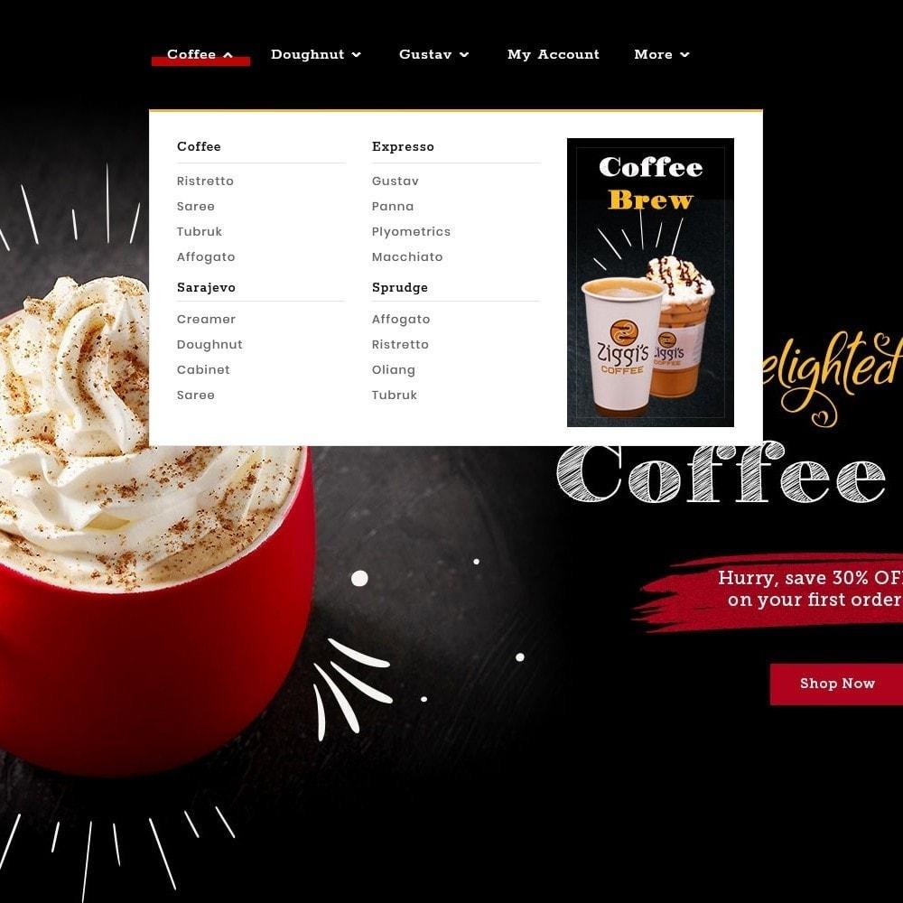theme - Bebidas y Tabaco - Brew Chic - Coffee Shop - 9