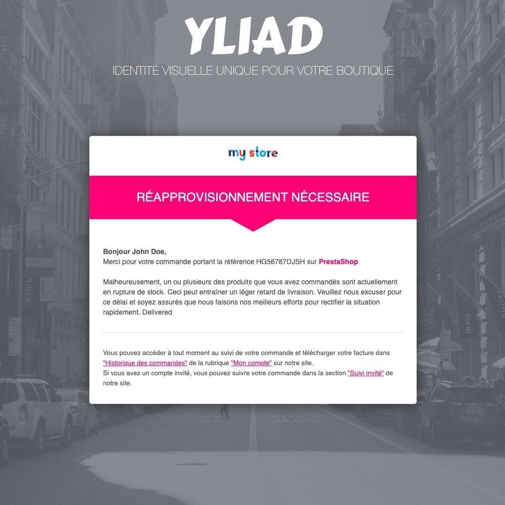 email - Templates d'e-mails PrestaShop - Yliad - Template d'emails responsives et professionnels - 3