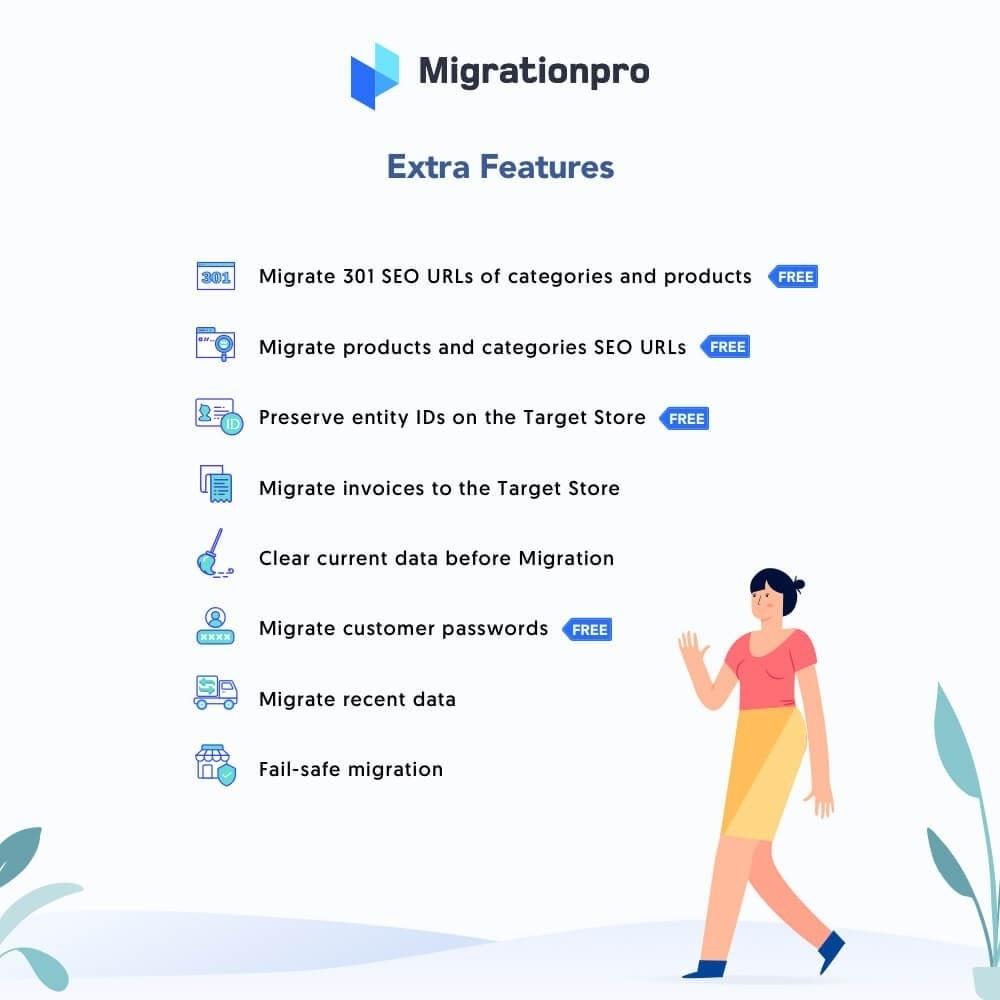 module - Data Migration & Backup - MigrationPro: CS-Cart to PrestaShop Migration tool - 5