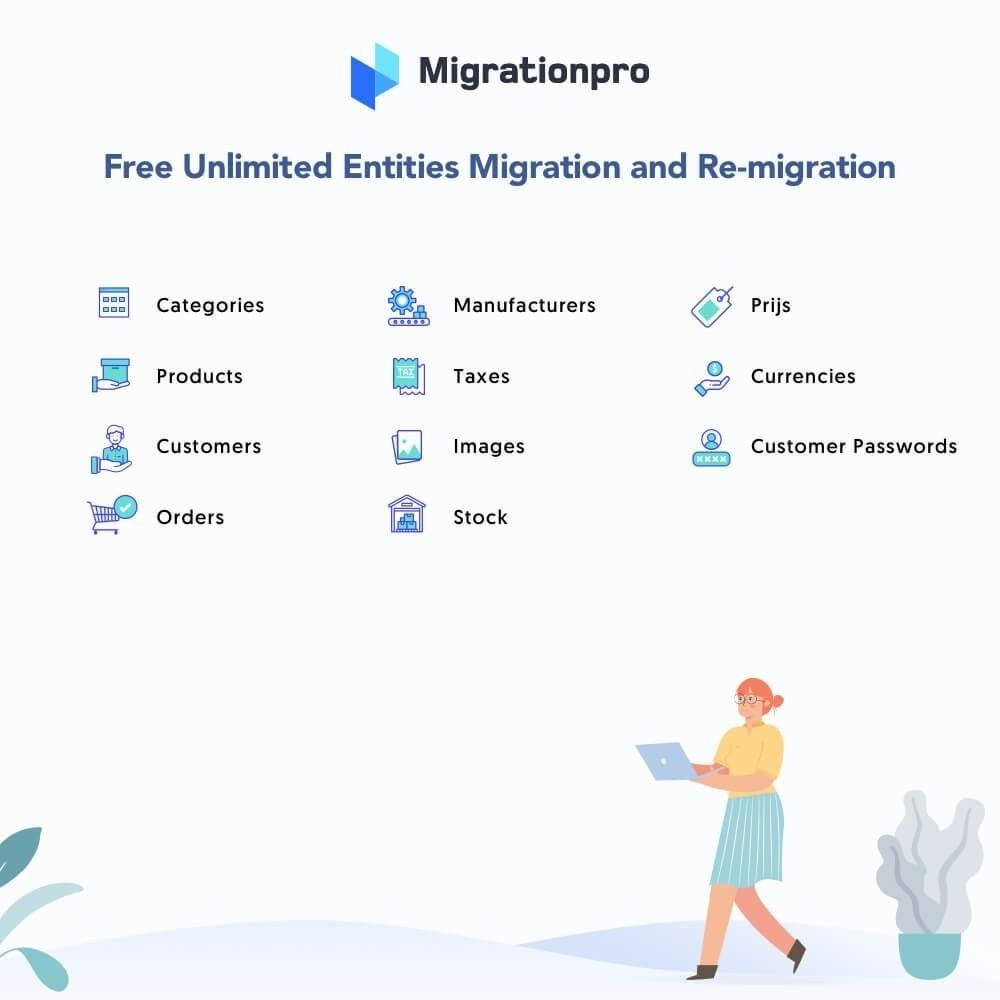 module - Data migration & Backup - MigrationPro: X-Cart to PrestaShop Migration tool - 2