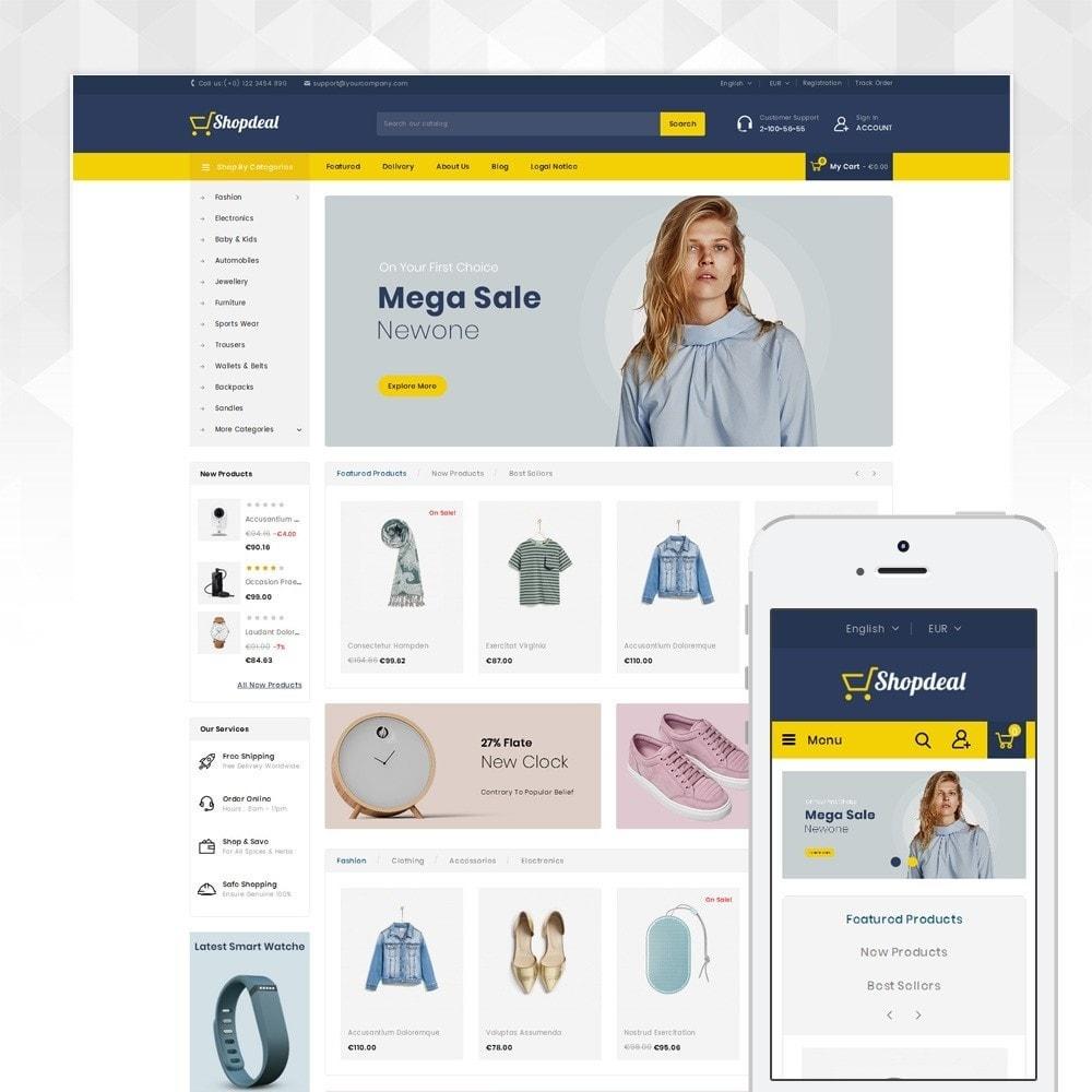 theme - Moda y Calzado - ShopDeal - Mega Store - 1