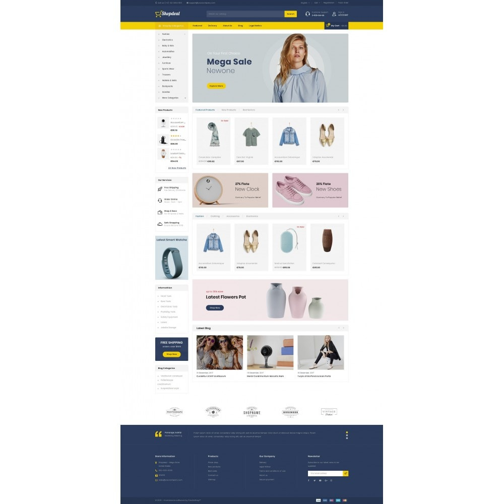 theme - Moda y Calzado - ShopDeal - Mega Store - 2