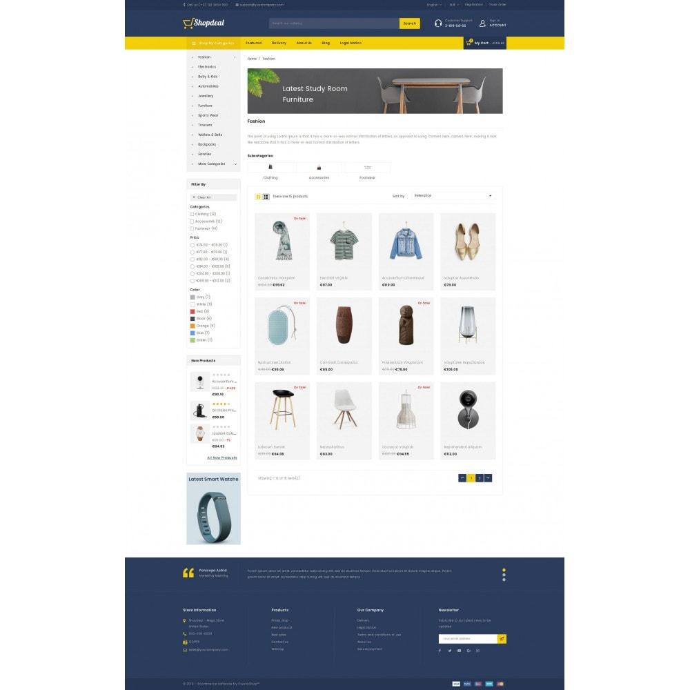 theme - Moda y Calzado - ShopDeal - Mega Store - 3