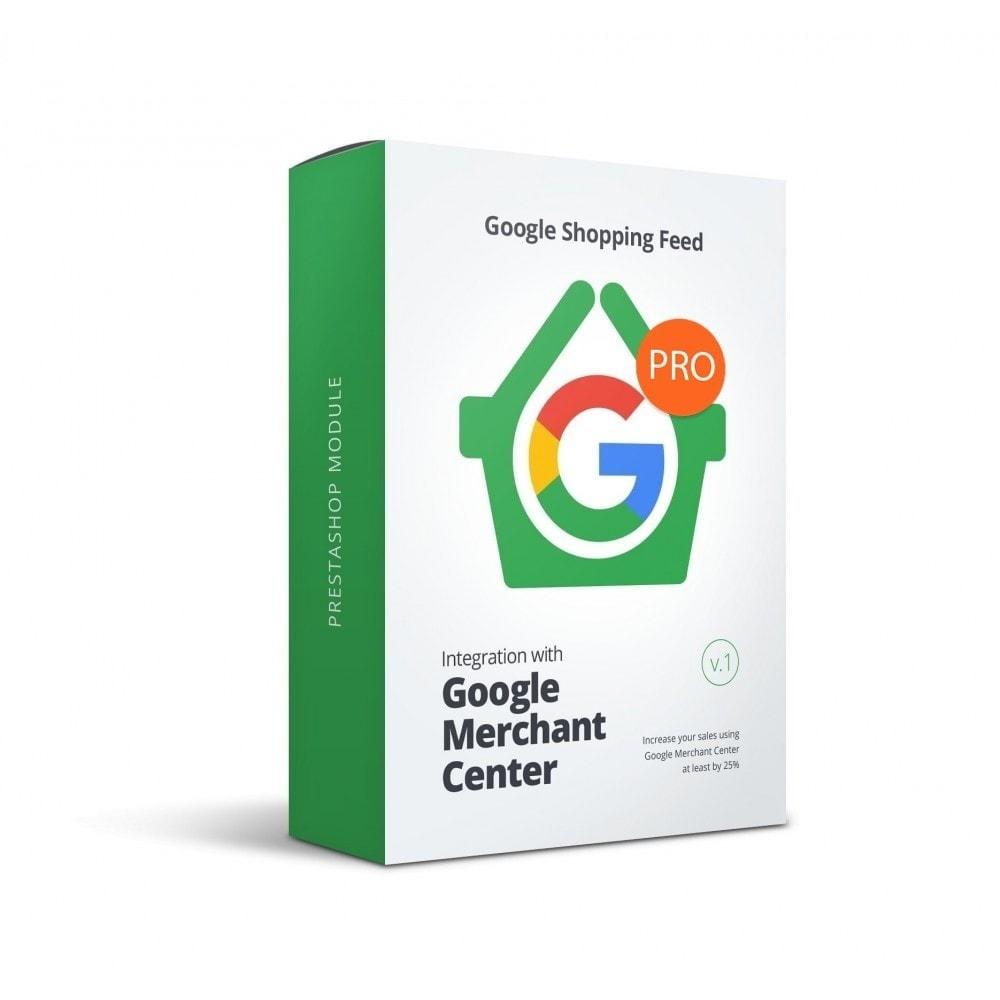 module - Comparateurs de prix - Google Merchant Center (Google Shopping Feed) PRO - 1